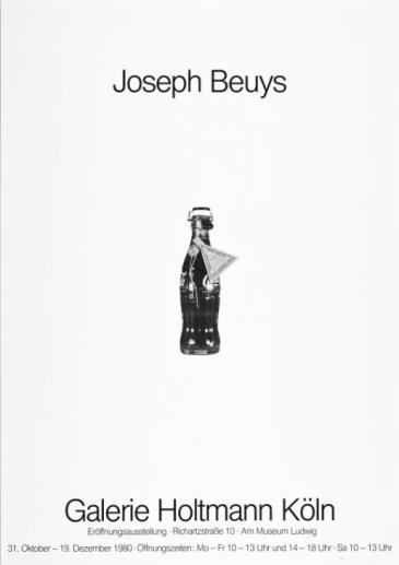 Joseph Beuys 1980 Joseph Beuys 1921-1986 ARTIST ROOMS Acquired jointly with the National Galleries of Scotland through The d'Offay Donation with assistance from the National Heritage Memorial Fund and the Art Fund 2008 http://www.tate.org.uk/art/work/AR01052