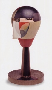 "Sophie Taeuber, Swiss, 1889-1943 Untitled (Dada Head). 1920 Oil on turned wood, height: 11 9/16"" (29.4 cm) Centre Pompidou, Musée national d'art moderne-Centre de création industrielle, Paris, Purchase, 2003 CNAC / MNAM / Dist. Réunion des Musées Nationaux / Art Resource, NY © 2006 Sophie Taeuber / Artists Rights Society (ARS), New York / VG Bild-Kunst, Bonn"