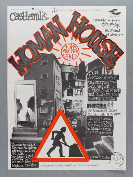 Castlemilk-Womanhouse-poster-Julie-Roberts-1990