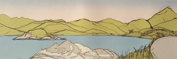 GillianMurray-SunsetByGlenuig