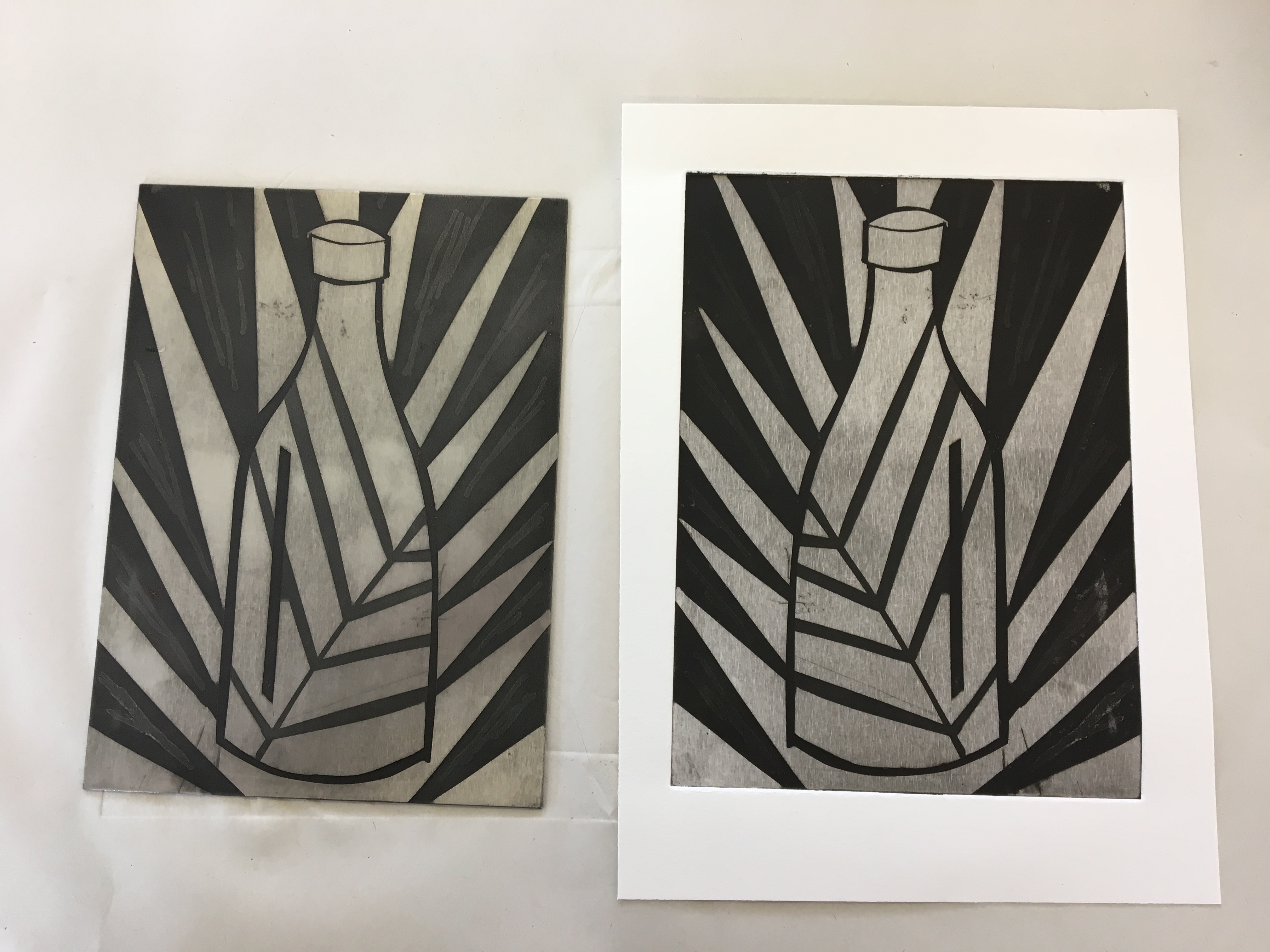 Etching With Don Braisby She S A Fine Artist