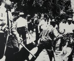 Birmingham Race Riot 1964 by Andy Warhol 1928-1987